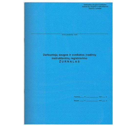 Darbuotojų saugos ir sveikatos įvadinių instruktavimų registravimo žurnalas